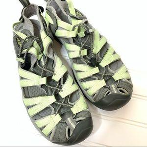 Keen Outdoor Active Sandals in Green/Grey 613